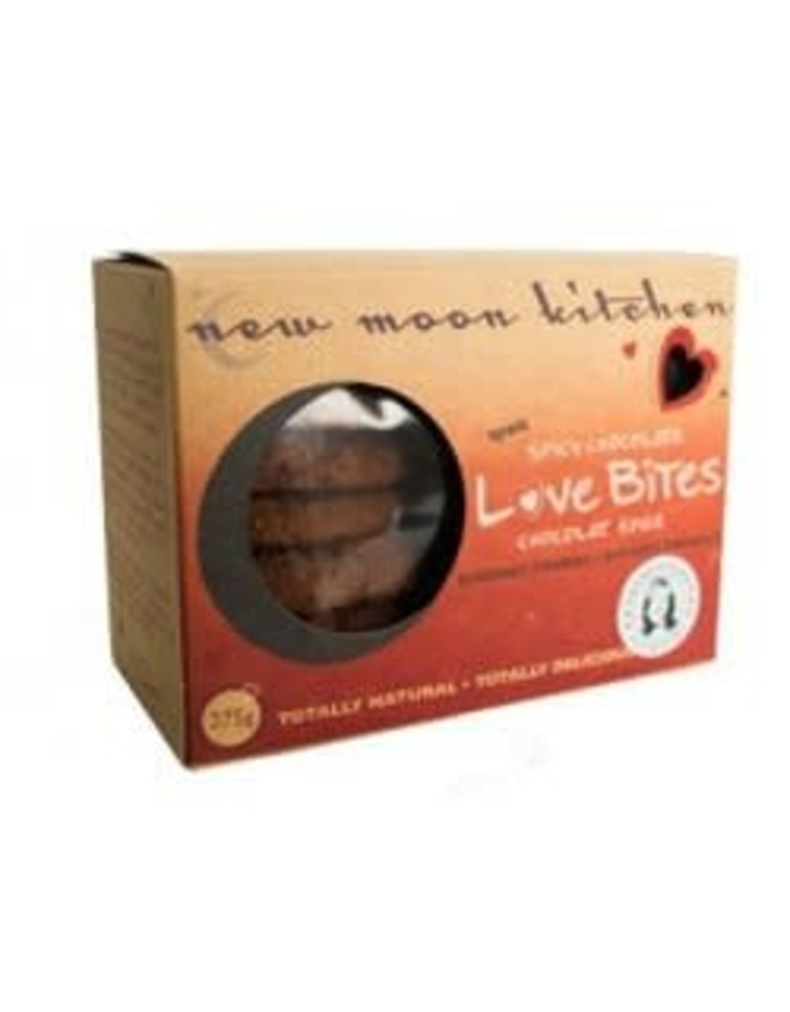New Moon Kitchen New Moon Kitchen - Biscuits, Lovebites Épicés au Chocolat (275g)