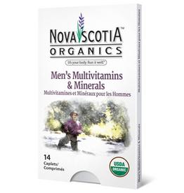 Nova Scotia Organics Nova Scotia Organics - Multivitamines & Minéraux, Hommes (14cap)