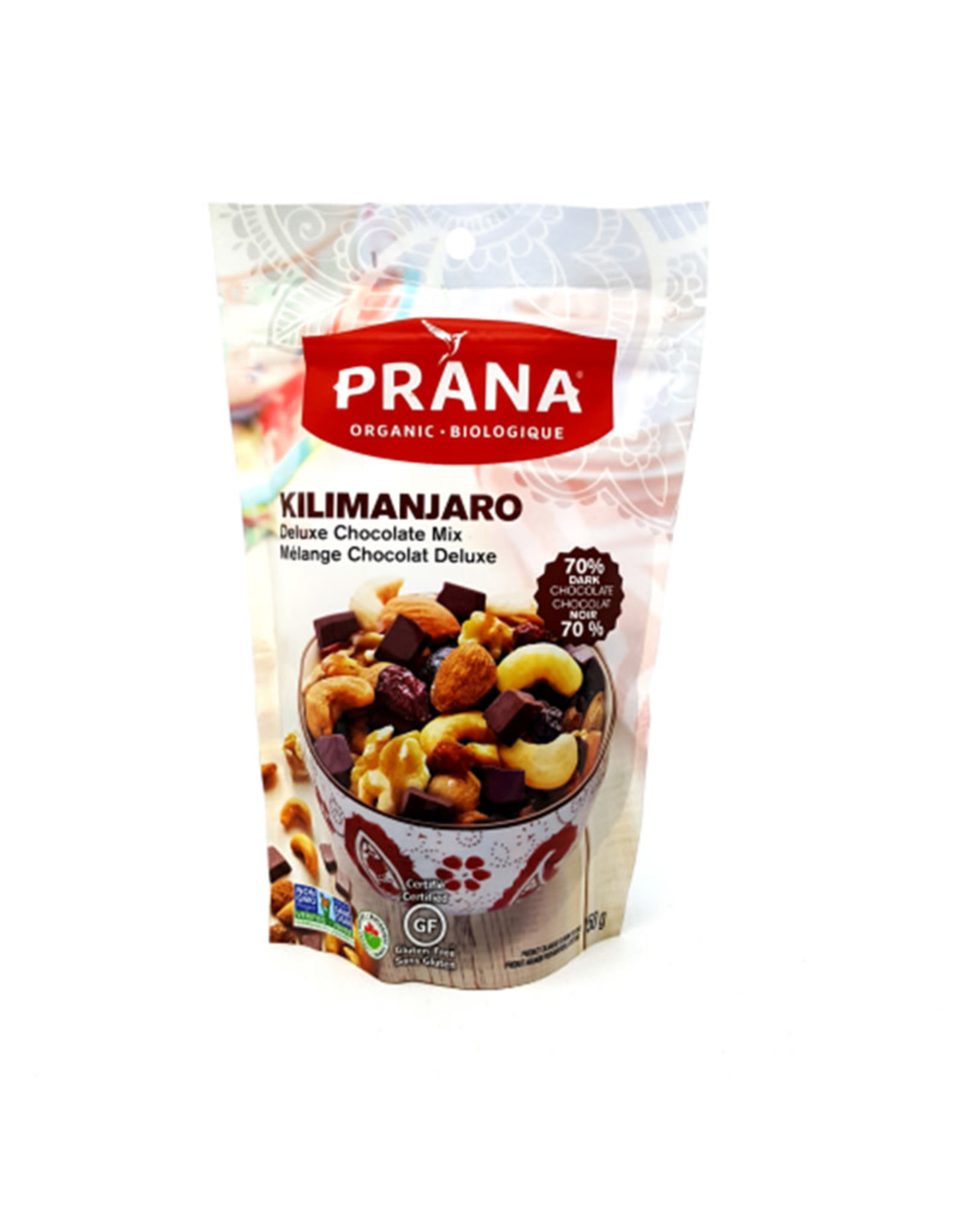Prana Prana - Mélange Montagnard, Chocolaté Deluxe Kilimanjaro Bio (150g)