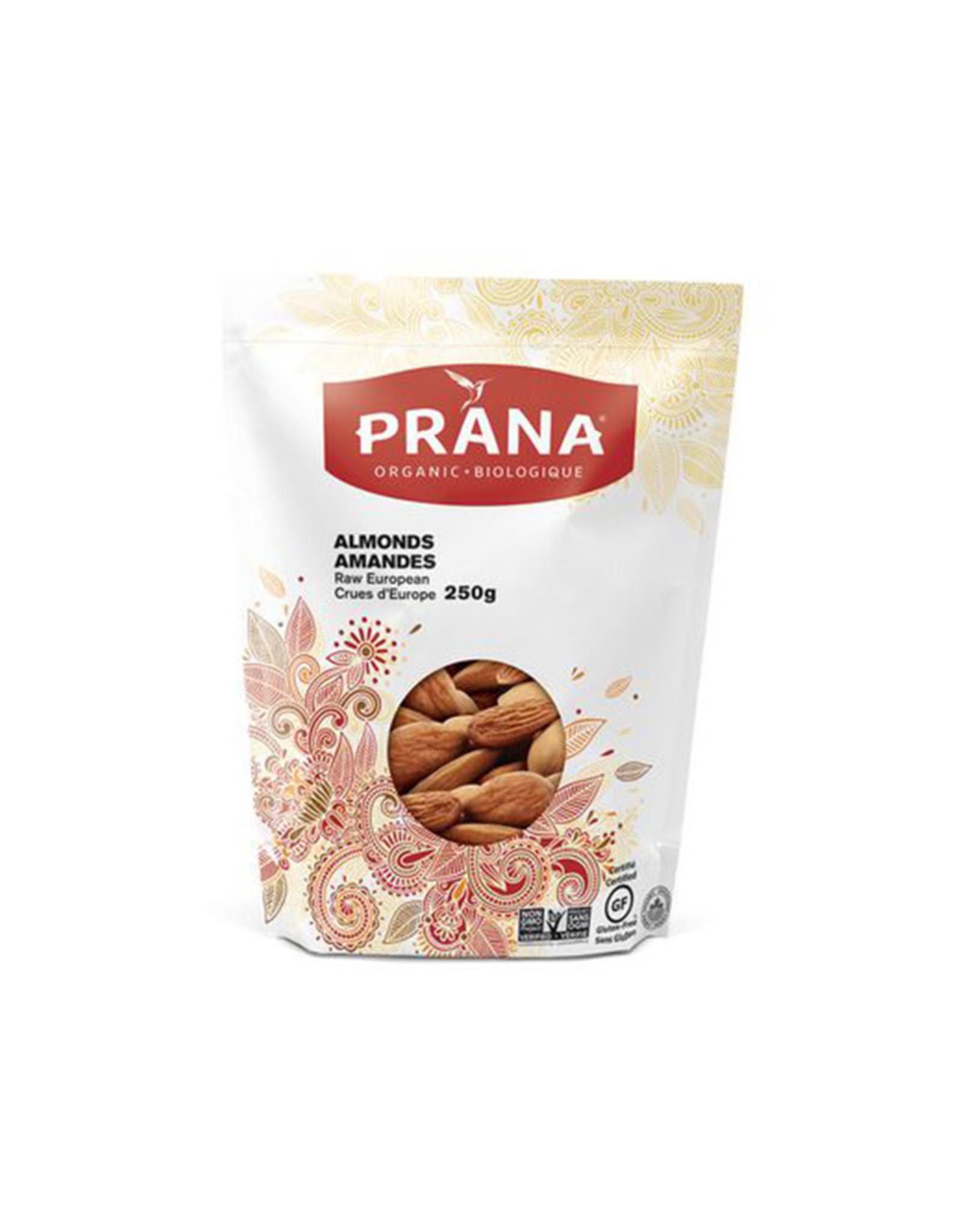 Prana Prana - Noix Séchées, Amandes Crues d'Europe Bio (250g)