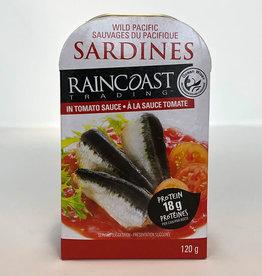 Raincoast Trading Raincoast Trading - Sardines, Sauce Tomate (120g)
