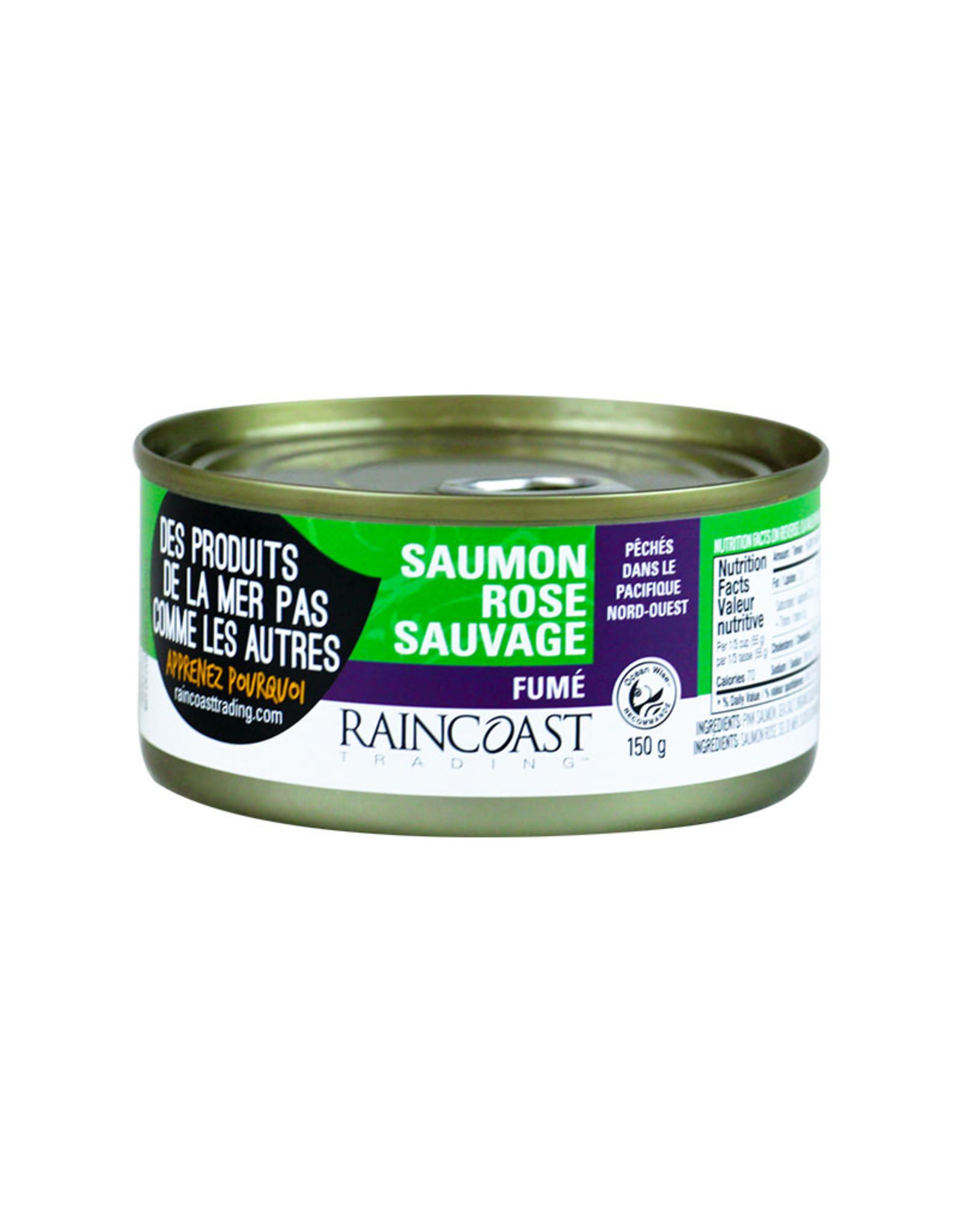 Raincoast Trading Raincoast Trading - Saumon Rose Sauvage, Fumé (150g)