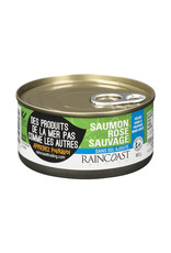 Raincoast Trading Raincoast Trading - Saumon Rose Sauvage, Sans Sel Ajouté (160g)