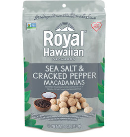 Royal Hawaiian Royal Hawaiian - Noix de Macadam, Sel de Mer & Poivre Concassé (113g)