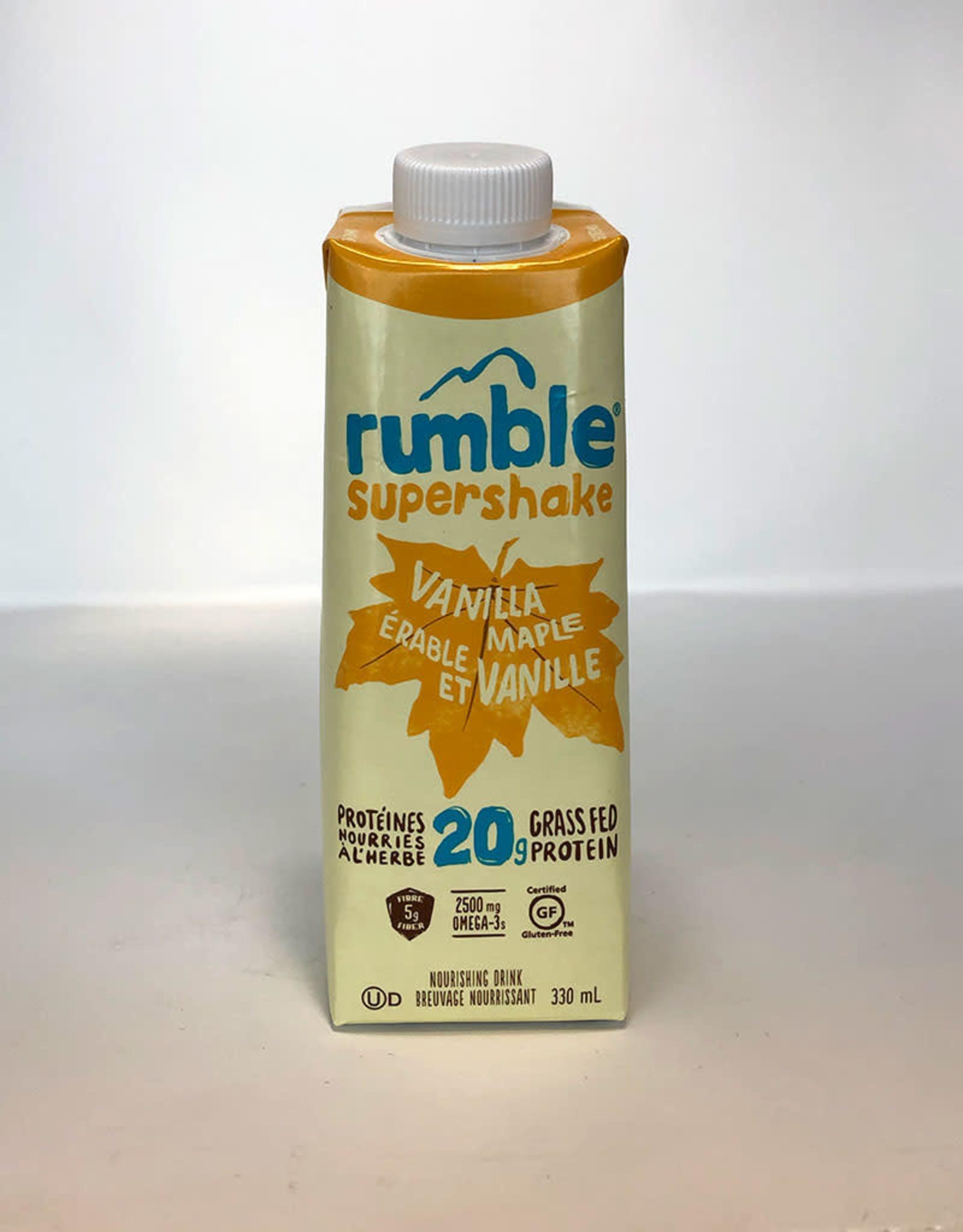 Rumble Rumble - Boisson Protéinée, Érable Vanillé (330ml)