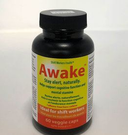 Shift Worker Health Shift Worker Health - Suppléments, Awake (60cap)
