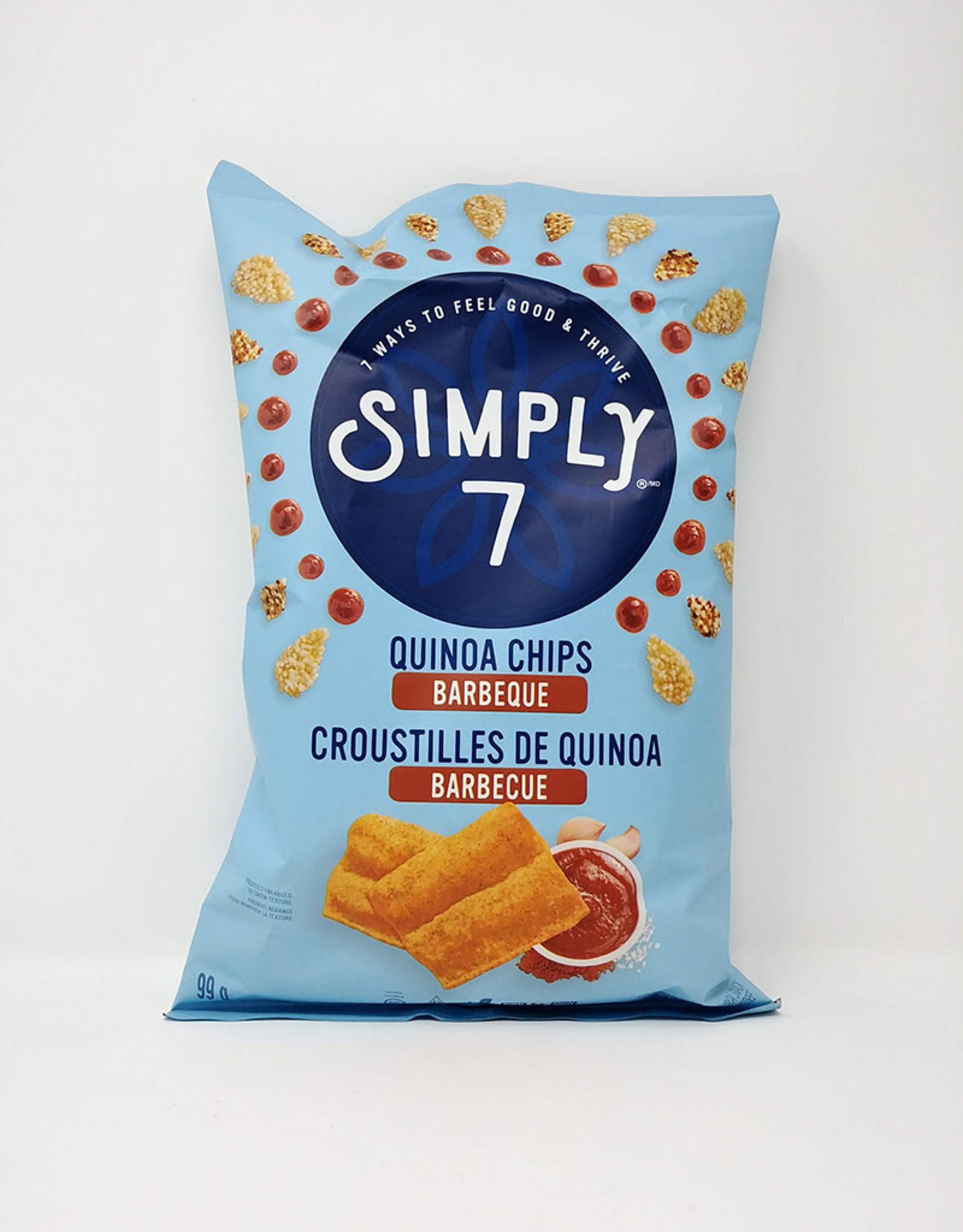 Simply 7 Simply 7 - Croustilles de Quinoa, BBQ (100g)