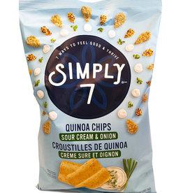 Simply 7 Simply 7 - Croustilles de Quinoa, Crème Sûre Et Oignon (100g)