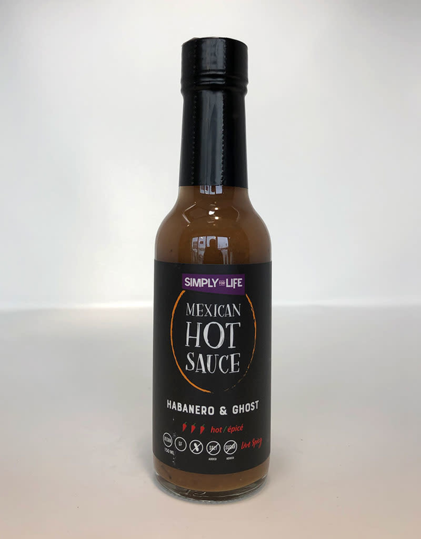 Simply For Life Simply For Life - Sauce Piquante, Habanero & Ghost (150ml)