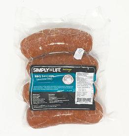 Simply For Life Simply For Life - Saucisses de Porc, BBQ (400g)