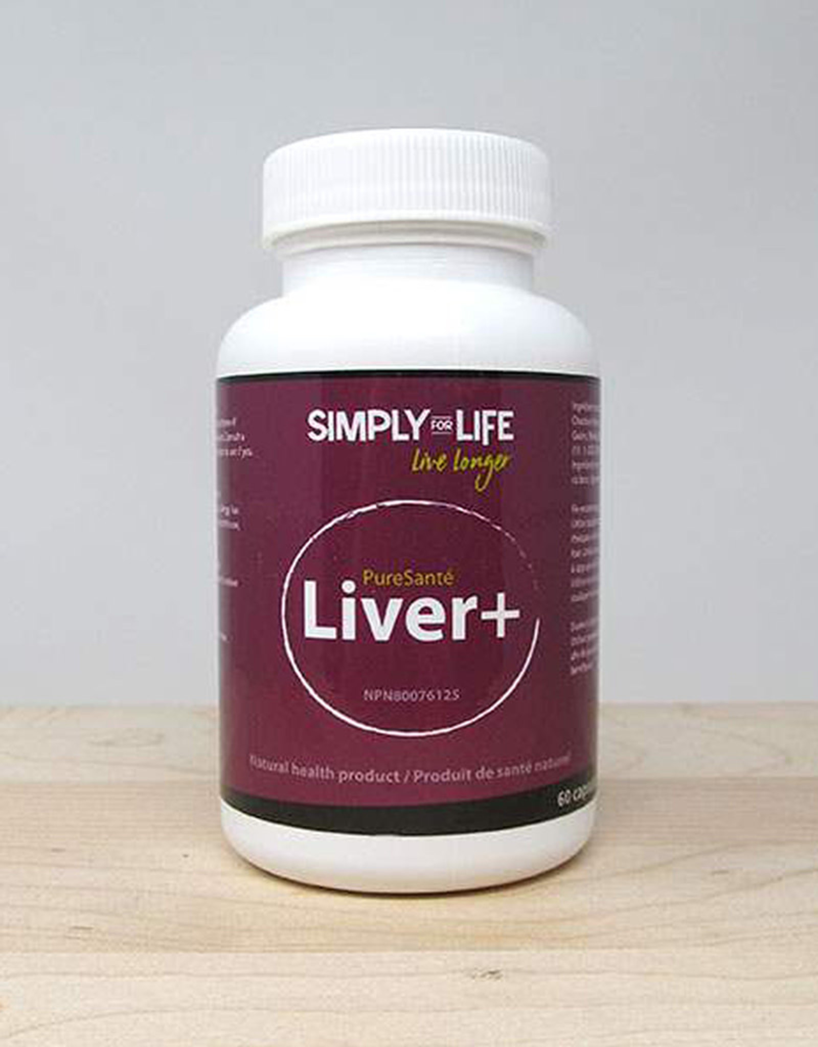 Simply For Life Simply For Life - Suppléments, Liver+ (60cap)