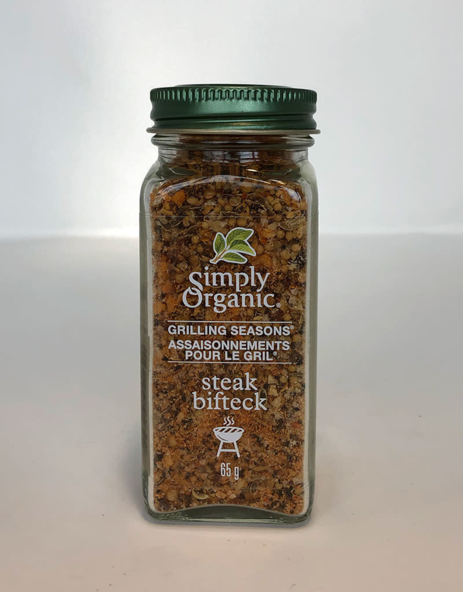 Simply Organic Simply Organic - Assaisonnements Pour le Gril, Bifteck (65g)