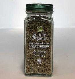 Simply Organic Simply Organic - Assaisonnements Pour le Gril, Poulet (31g)