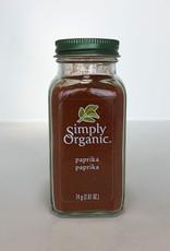 Simply Organic Simply Organic - Épices En Bouteille Bio, Paprika Moulu (74g)