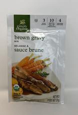 Simply Organic Simply Organic - Mélange à Sauce, Sauce Brune Bio (28.35g)