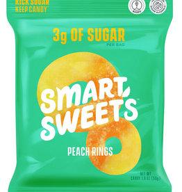Smart Sweets Smart Sweets - Jujubes, Anneaux de Pêche (50g)