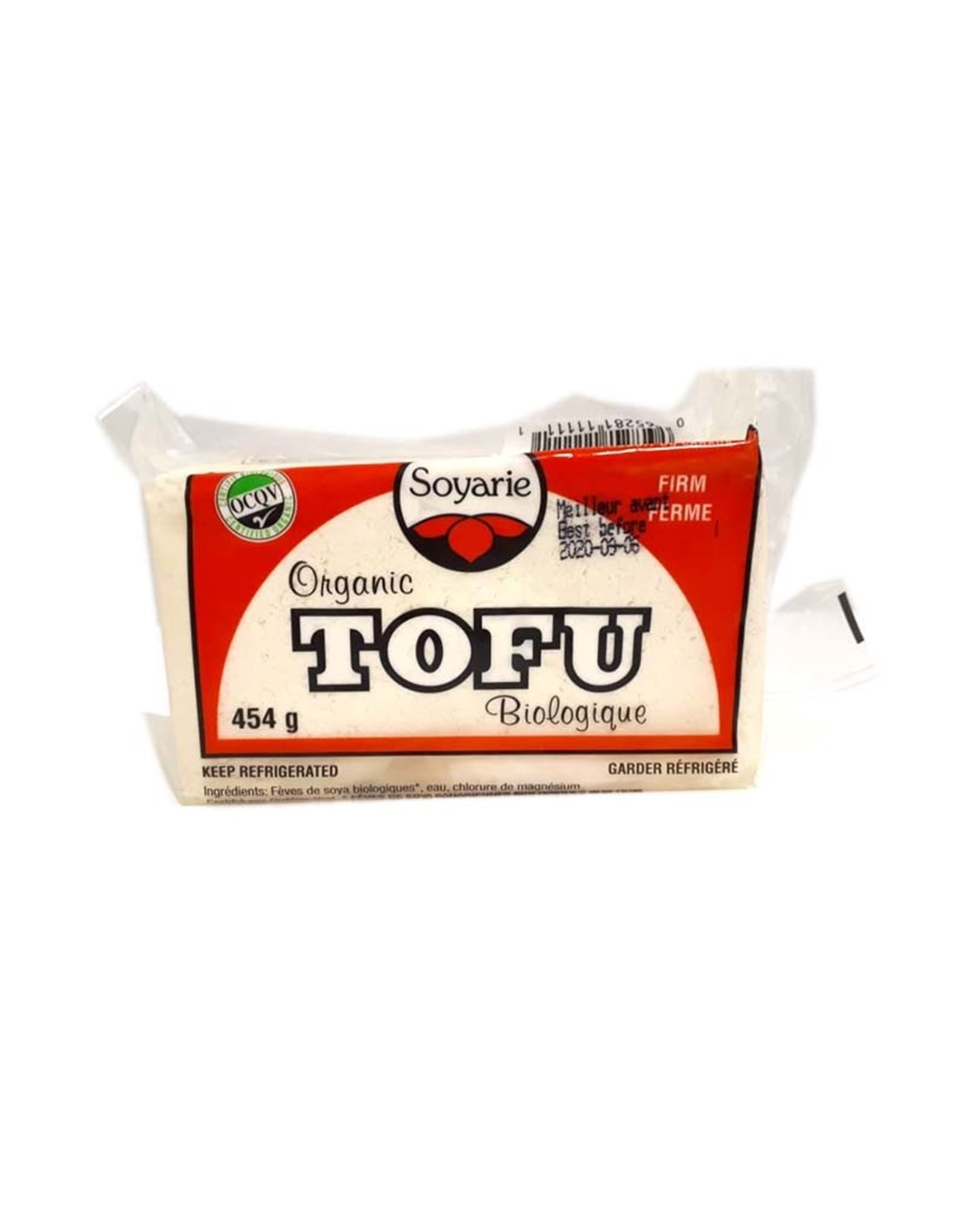 Soyarie Soyarie - Tofu, Ferme Nature (454g)