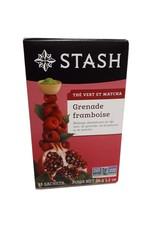 Stash Tea Stash Tea - Thé Vert et Matcha, Framboise (18scts)