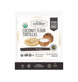 The Real Coconut The Real Coconut - Tortillas, Farine Noix de Coco (215g)