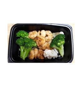 Tout Sous Un Même Chef Tout Sous Un Même Chef - Repas, Sauté de Crevettes Glacées à L'Orange Avec Féculent