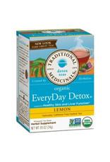 Traditional Medicinals Traditional Medicinals - Tisane, Citron Détox Quotidien (20un)