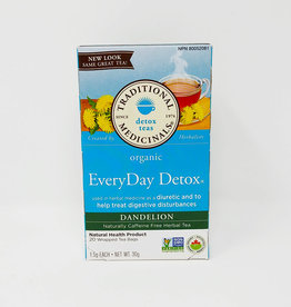 Traditional Medicinals Traditional Medicinals - Tisane, Everyday Detox Pissenlit (20un)