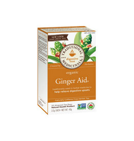 Traditional Medicinals Traditional Medicinals - Tisane, Gingembre Aidant (20un)