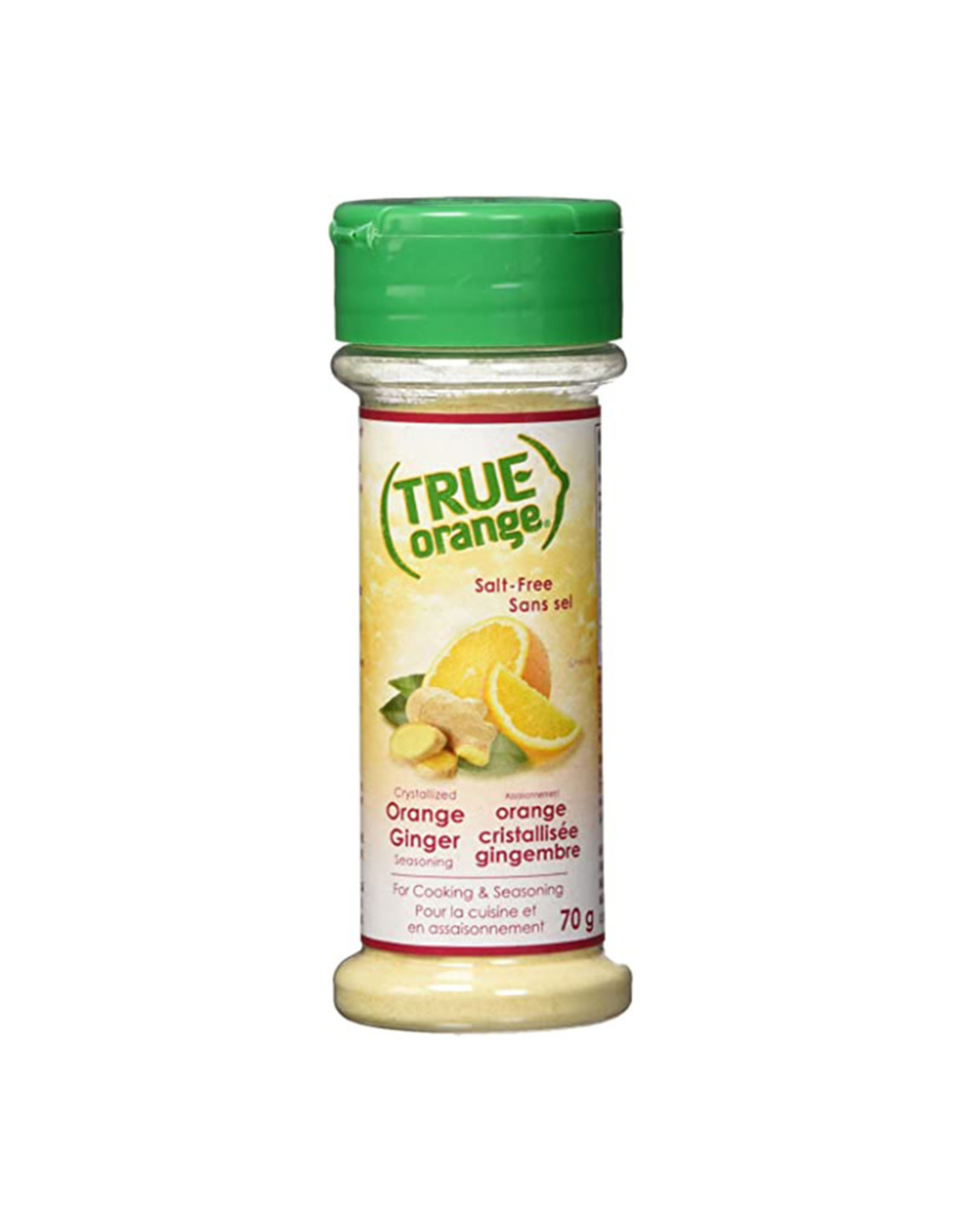 True Citrus True Citrus - Assaisonnement, Gingembre à L'Orange (70g)