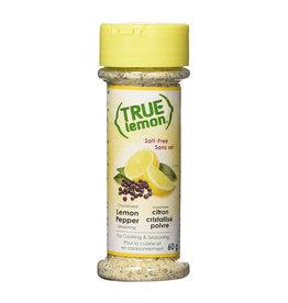 True Citrus True Citrus - Assaisonnement, Poivre au Citron (60g)