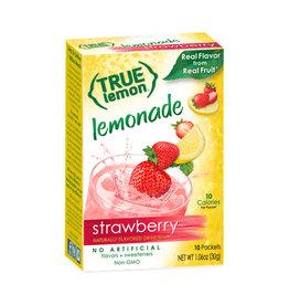 True Citrus True Citrus - True Lemon, Limonade Aux Fraises (10pk)