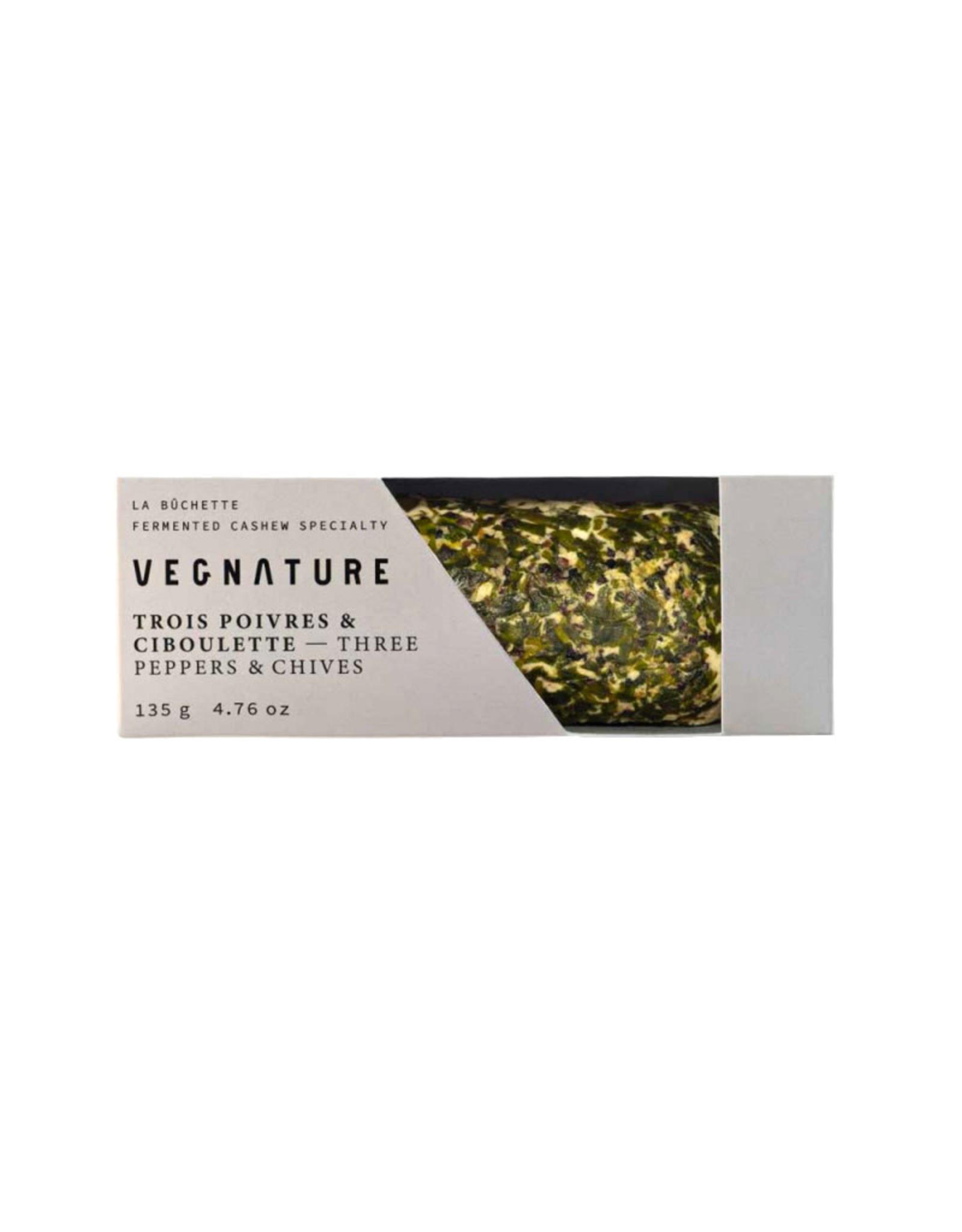 Vegnature Vegnature - Vromage, 3 Poivres Ciboulette (135g)