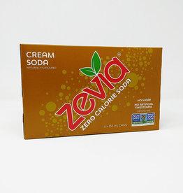 Zevia Zevia - Boisson Gazeuse, Crème Soda (Paquet 6) (6x355ml)