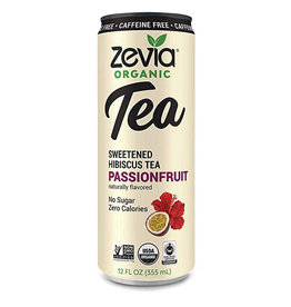 Zevia Zevia - Thé, Hibiscus au Fruit de la Passion (355ml)