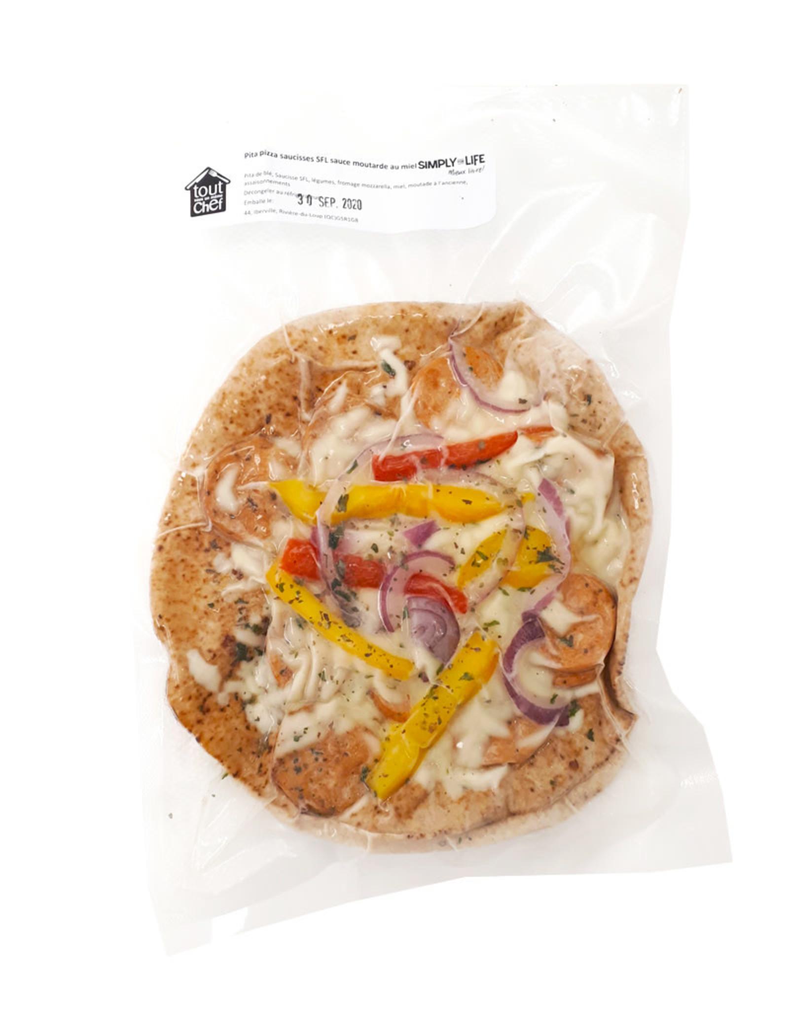 Tout Sous Un Même Chef Tout Sous Un Même Chef - Repas, Pita Pizza Saucisses SFL
