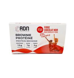 AdnNutri AdnNutri - Brownie aux Protéines, Fudge et Chocolat Noir (70g)