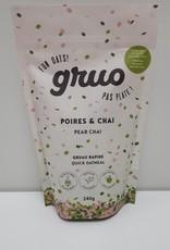 Gruo Gruo - Gruau, Poires & Chai (240g)