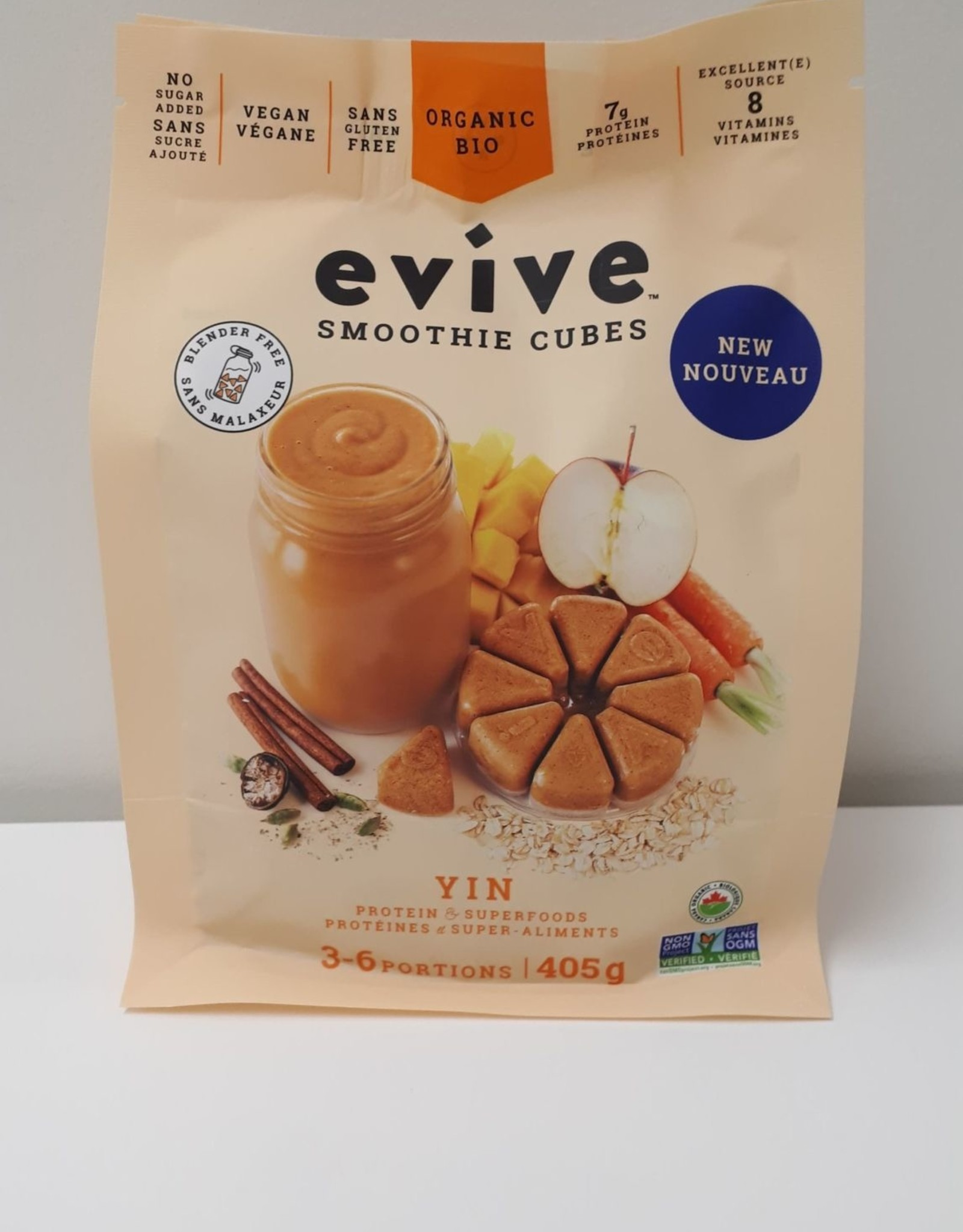 Evive Evive - Smoothie En Cube, Yin (405g)