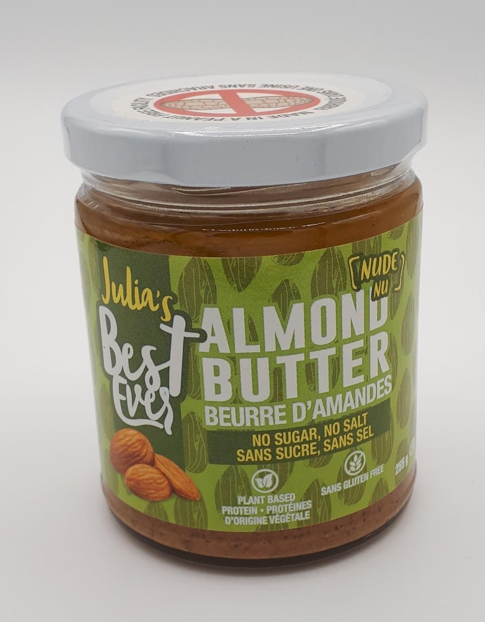Julia's Best Ever Julia'S Best Ever - Beurre d'Amandes, Naturel (255g)