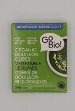 GoBio Gobio - Bouillon de Légumes En Cubes (54g)