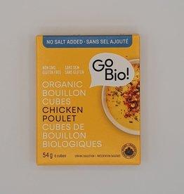 GoBio Gobio - Bouillon de Poulet En Cubes (54g)