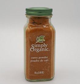 Simply Organic Simply Organic - Épices En Bouteille Bio, Poudre de Cari (85g)