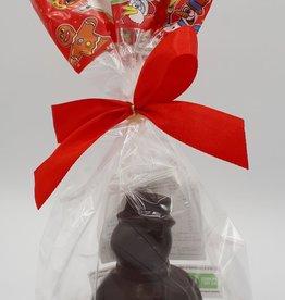 Saveur et Nature Saveur Et Nature - Chocolat Noir, Bonhomme de Neige (100g)