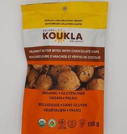 Koukla Delights Koukla Delights - Bouchées, Beurre d'Arachide Pépite de Chocolat (150g)