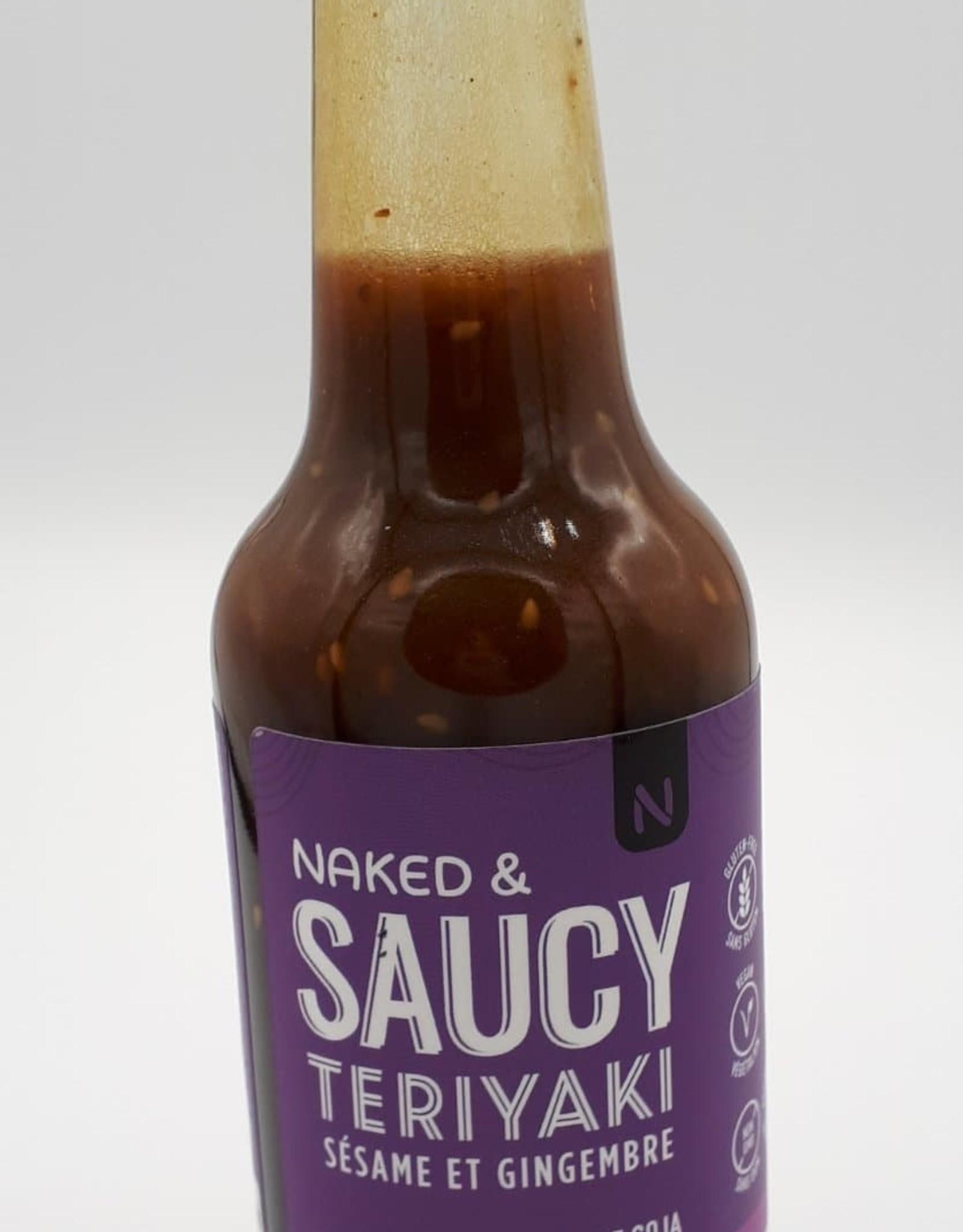 Naked Natural Food Naked Natural Food - Sauce Teriyaki, Sésame Gingembre (926ml)