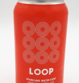Loop Loop - Kéfir d'Eau, Fraise et Plantes Boréales (355ml)