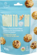 Good To Go Good To Go - Bouchées Noix et Graines, Amandes et Sel de Mer (100g)