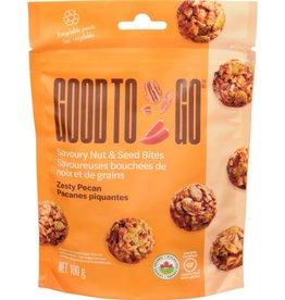 Good To Go Good To Go - Bouchées Noix et Graines, Pacanes Picantes (100g)