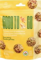 Good To Go Good To Go - Bouchées Noix et Graines, Toutes Garnies (100g)
