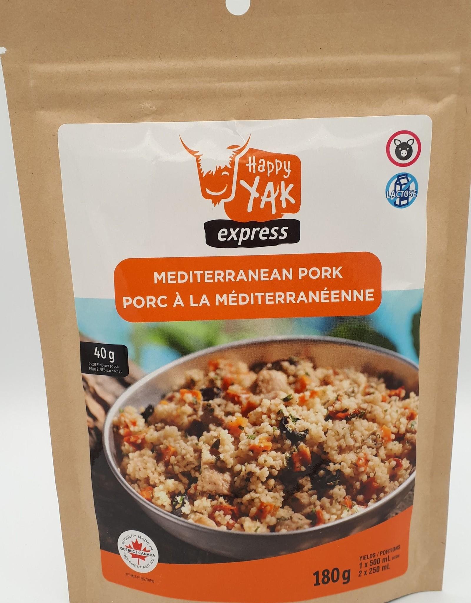 Happy Yak Happy Yak - Repas, Porc à la méditerrannéenne (sans lactose)