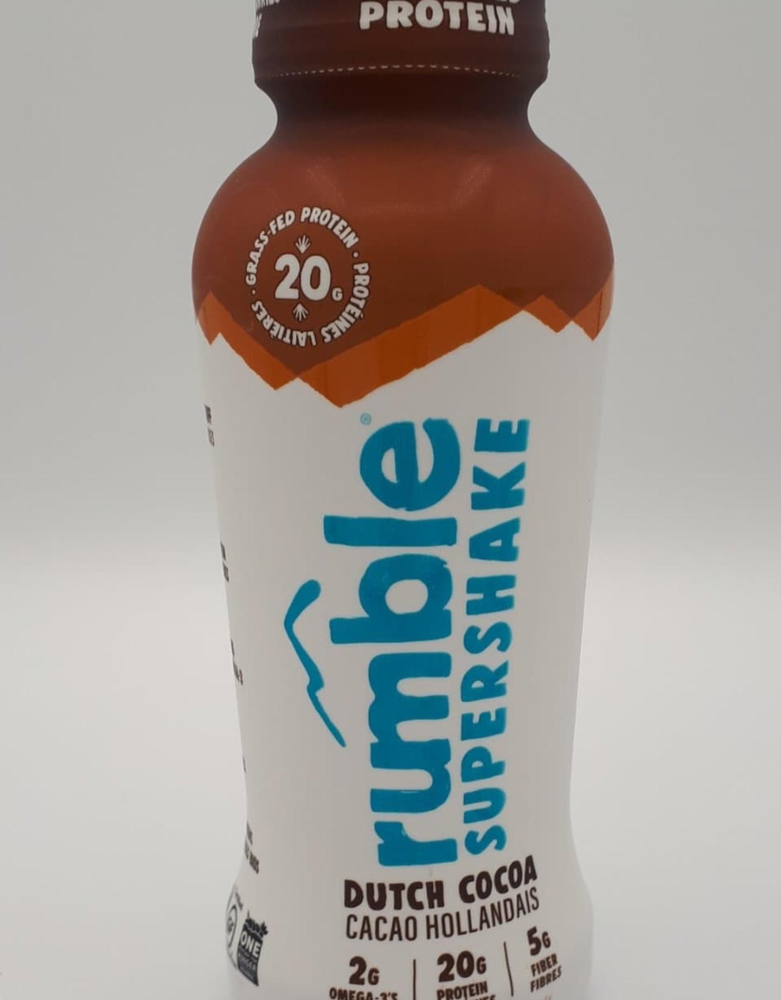 Rumble Rumble - Boisson Protéinée, Cacao Hollandais (355ml)